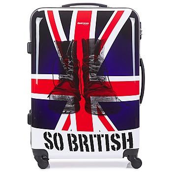 Βαλίτσα με σκληρό κάλυμμα David Jones UNION JACK L