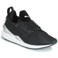 Παπούτσια Γυναίκα Χαμηλά Sneakers Puma WN MUSE SATIN II.BLACK Black
