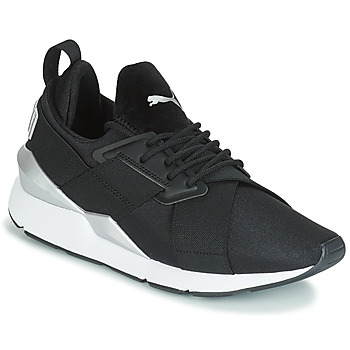 Xαμηλά Sneakers Puma WN MUSE SATIN II.BLACK