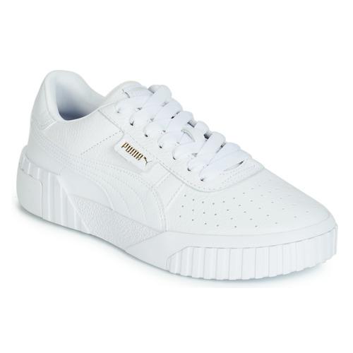 Παπούτσια Γυναίκα Χαμηλά Sneakers Puma CALI Άσπρο