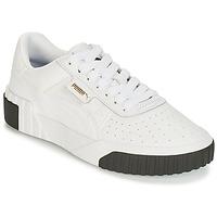 Παπούτσια Γυναίκα Χαμηλά Sneakers Puma CALI Άσπρο / Black