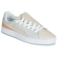 Παπούτσια Γυναίκα Χαμηλά Sneakers Puma WN BASKET CRUSH PARIS.GRAY Beige