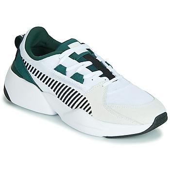 Παπούτσια Άνδρας Χαμηλά Sneakers Puma ZETA SUEDE.WHITE-PONDEROSA Άσπρο