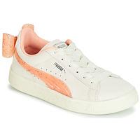 Παπούτσια Κορίτσι Χαμηλά Sneakers Puma PS SUEDE BOW JELLY AC.WHIS Beige