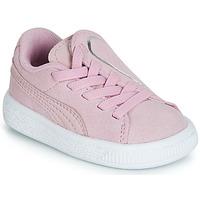 Παπούτσια Κορίτσι Χαμηλά Sneakers Puma INF SUEDE CRUSH AC.LILAC Lila