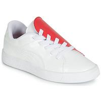 Παπούτσια Κορίτσι Χαμηλά Sneakers Puma PS BKT CRUSH PATENT AC.W-H Άσπρο