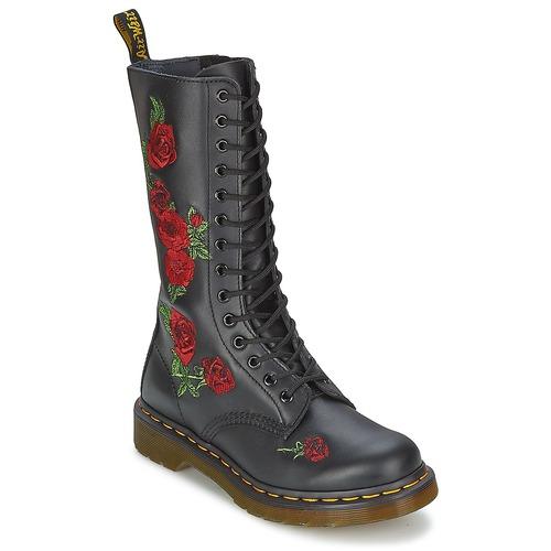 Παπούτσια Γυναίκα Μπότες για την πόλη Dr Martens VONDA Black