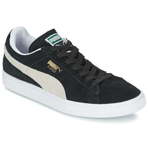 Παπούτσια Χαμηλά Sneakers Puma SUEDE CLASSIC Black / Άσπρο