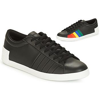 Παπούτσια Γυναίκα Χαμηλά Sneakers Le Coq Sportif FLAG Black / Multicolour