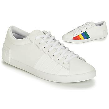 Παπούτσια Γυναίκα Χαμηλά Sneakers Le Coq Sportif FLAG Άσπρο / Multicolour