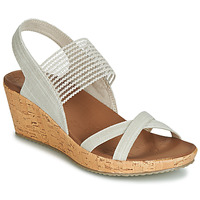 Παπούτσια Γυναίκα Σανδάλια / Πέδιλα Skechers BEVERLEE Beige