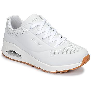 Παπούτσια Γυναίκα Χαμηλά Sneakers Skechers UNO Άσπρο