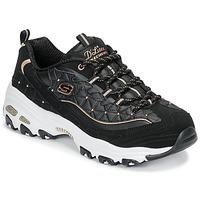Παπούτσια Γυναίκα Χαμηλά Sneakers Skechers D'LITES GLAMOUR FEELS Black