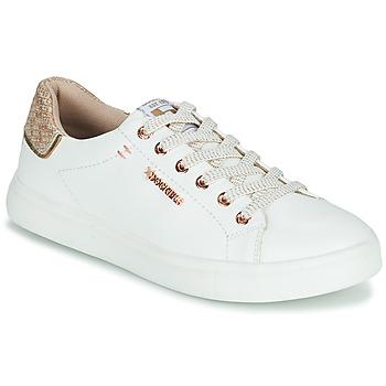 Παπούτσια Γυναίκα Χαμηλά Sneakers Dockers by Gerli 44MA201-594 Άσπρο