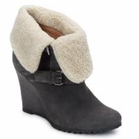 Παπούτσια Γυναίκα Μποτίνια Atelier Voisin CARLA Grey