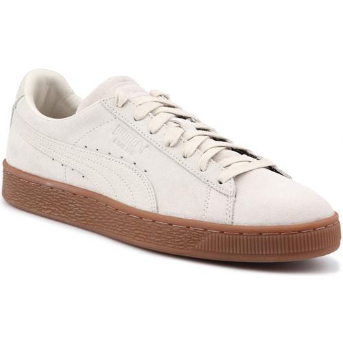 Παπούτσια Άνδρας Χαμηλά Sneakers Puma Lifestyle shoes  Suede Classic Natural Warmth 363869 02 beige