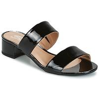 Παπούτσια Γυναίκα Τσόκαρα Betty London BAMALEA Black / Verni