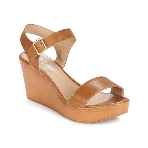 Παπούτσια Γυναίκα Σανδάλια / Πέδιλα Betty London CHARLOTA Brown