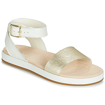 Παπούτσια Γυναίκα Σανδάλια / Πέδιλα Clarks BOTANIC IVY Άσπρο