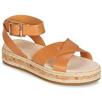 Παπούτσια Γυναίκα Σανδάλια / Πέδιλα Clarks BOTANIC POPPY Brown