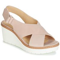 Παπούτσια Γυναίκα Σανδάλια / Πέδιλα Clarks PALM CANDID Nude