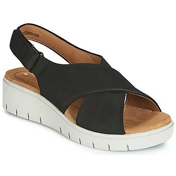 Παπούτσια Γυναίκα Σανδάλια / Πέδιλα Clarks UN KARELY SUN Black