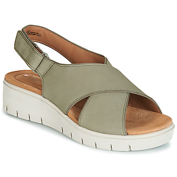 Παπούτσια Γυναίκα Σανδάλια / Πέδιλα Clarks UN KARELY SUN Green