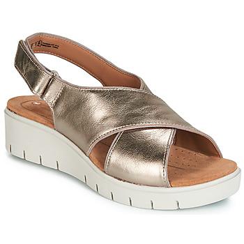 Παπούτσια Γυναίκα Σανδάλια / Πέδιλα Clarks UN KARELY SUN Gold