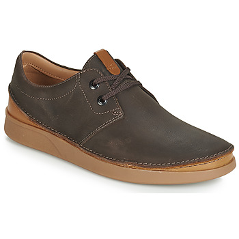 Παπούτσια Άνδρας Derby Clarks OAKLAND LACE Brown