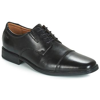 Παπούτσια Άνδρας Derby Clarks TILDEN CAP Black