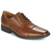 Παπούτσια Άνδρας Derby Clarks TILDEN CAP Brown