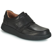 Παπούτσια Άνδρας Derby Clarks UN ABODE STRAP Black