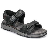 Παπούτσια Άνδρας Σανδάλια / Πέδιλα Clarks UN TREK PART Black