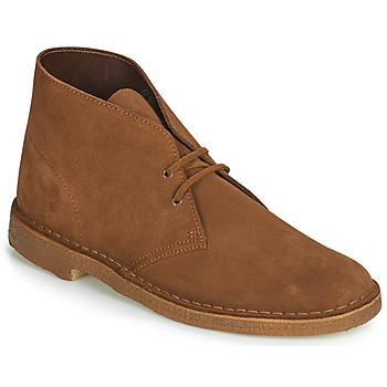 Παπούτσια Άνδρας Μπότες Clarks Desert Boot Brown