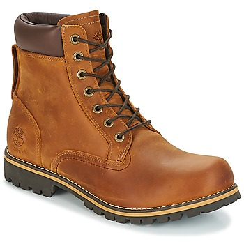 Παπούτσια Άνδρας Μπότες Timberland EK RUGGED 6 IN PLAIN TOE BOOT Brown / Fonce