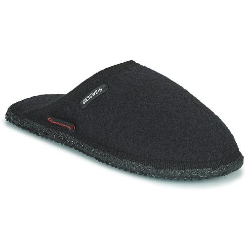 Παπούτσια Άνδρας Παντόφλες Giesswein TINO Black
