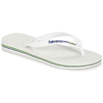 Παπούτσια Σαγιονάρες Havaianas BRASIL LOGO Άσπρο