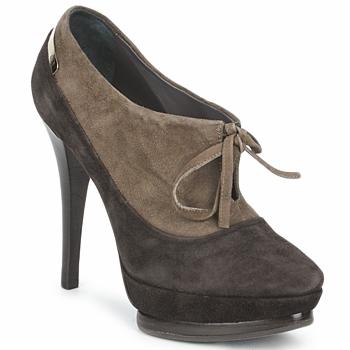 Παπούτσια Γυναίκα Χαμηλές Μπότες Alberto Gozzi CAMOSCIO ARATY Brown