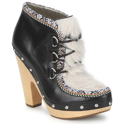 Παπούτσια Γυναίκα Χαμηλές Μπότες Belle by Sigerson Morrison BLACKA Beige / Black