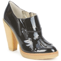 Παπούτσια Γυναίκα Χαμηλές Μπότες Belle by Sigerson Morrison SHEEP ΜΑΥΡΟ / STONE / PANNA