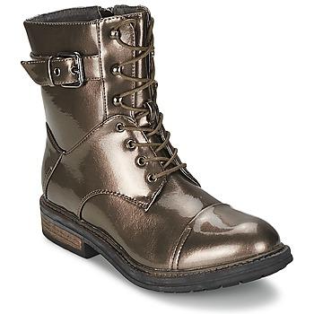 Παπούτσια Γυναίκα Μπότες Les P'tites Bombes STONE Argenté