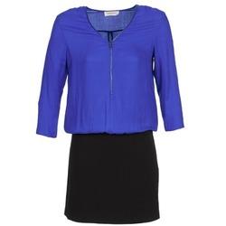 Υφασμάτινα Γυναίκα Κοντά Φορέματα Naf Naf KIMON DR μπλέ / Black