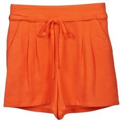 Υφασμάτινα Γυναίκα Σόρτς / Βερμούδες Naf Naf KUIPI Orange