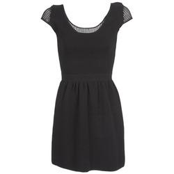 Υφασμάτινα Γυναίκα Κοντά Φορέματα Naf Naf MANGUILLA Black