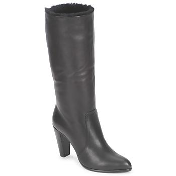 Παπούτσια Γυναίκα Μπότες για την πόλη Michel Perry CALF Nero