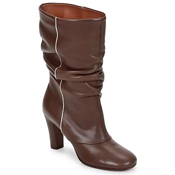 Παπούτσια Γυναίκα Μποτίνια Michel Perry SAHARA KHAKI