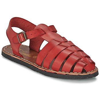 Παπούτσια Γυναίκα Σανδάλια / Πέδιλα Betty London EKINO Red
