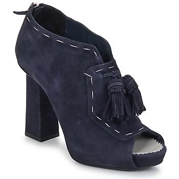 Παπούτσια Γυναίκα Χαμηλές Μπότες Pollini PA1620 Navy