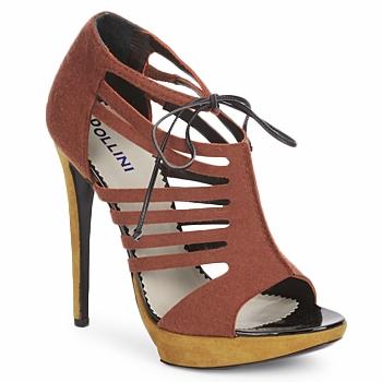Παπούτσια Γυναίκα Σανδάλια / Πέδιλα Pollini PA1602 Feltro-ruggine