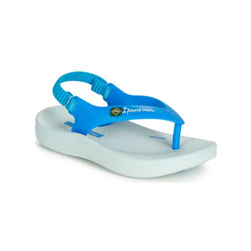 Παπούτσια Παιδί Σανδάλια / Πέδιλα Ipanema ANATOMIC SOFT BABY Μπλέ / Άσπρο